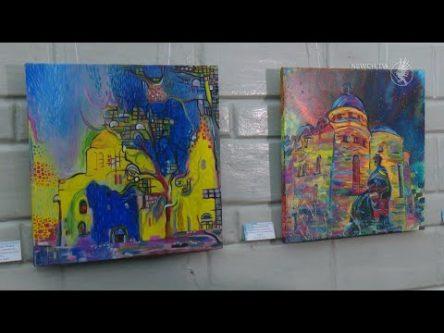 Чернігів у стилі Вінсента ван Гога. Яким змалювали місто студенти «політехніки»?
