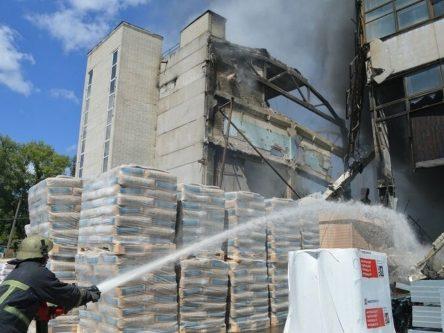 1700 гривень штрафу: яка відповідальність за вибух на колишній музичній фабриці власника приміщень